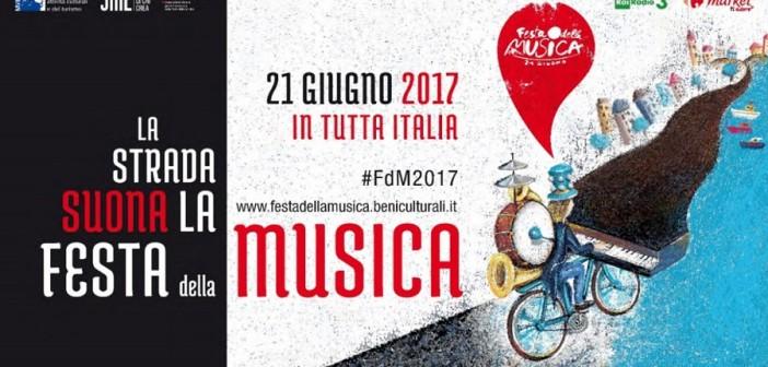 La strada suona, il 21 giugno Festa della musica