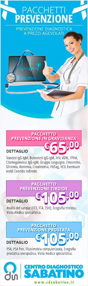 pacchetti di prevenzione e check up diagnostica