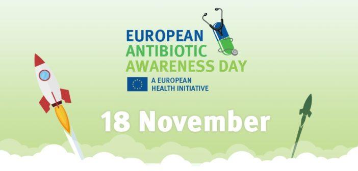 """18 novembre """"Giornata europea degli antibiotici"""", #antibioticoresistenza"""