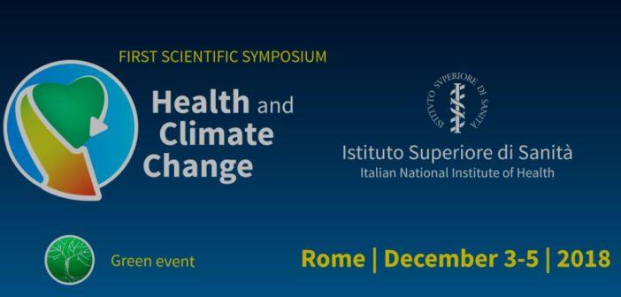 """Iss, a Roma """"Health and Climate Change"""" per la Carta internazionale"""