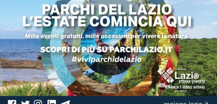 Regione Lazio, eventi gratuiti nei parchi naturali; campagna antincendio 2021